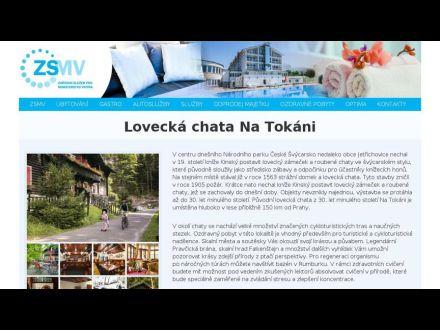 www.zsmv.cz/ubytovani/lovecka-chata-na-tokani/