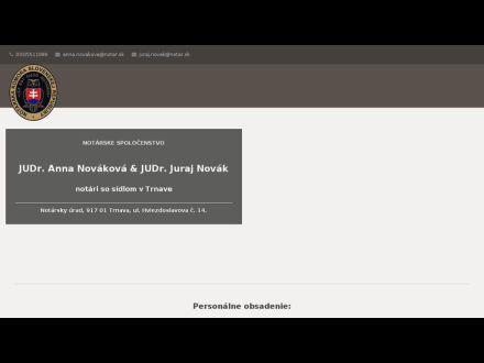 www.notarnovak.sk