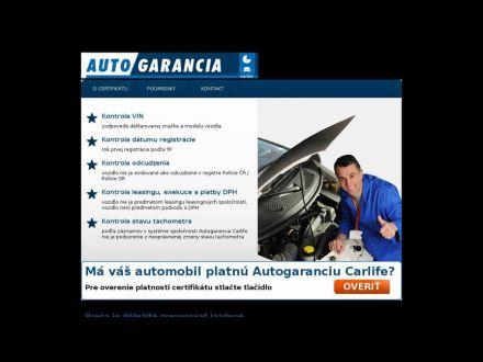 www.auto-garancia.sk