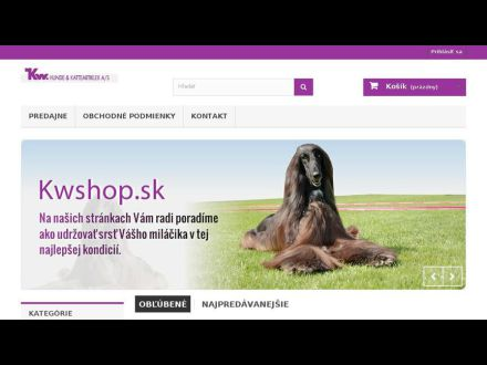 www.kwshop.sk