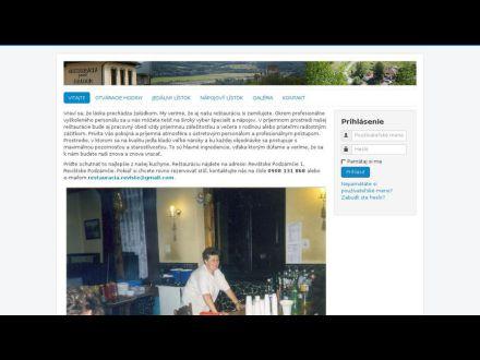 www.restauracia-pod-hradom.sk