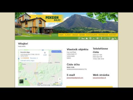 www.penzionbajo.sk