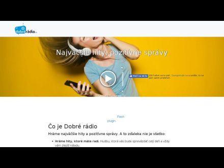 www.dobreradio.sk