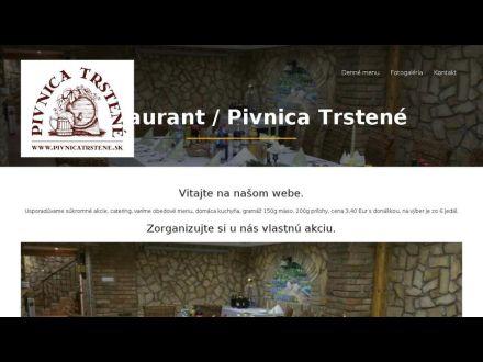 www.pivnicatrstene.sk