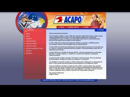 www.acapo.sk