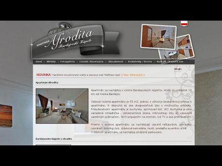 www.apartmanafrodita.sk