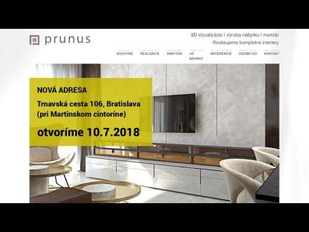 www.prunus.sk