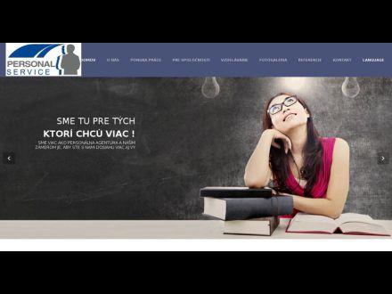 www.personalservice.sk