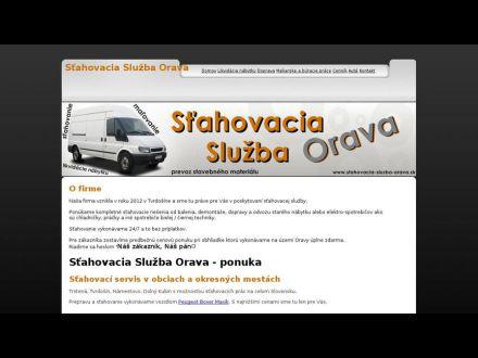 www.stahovacia-sluzba-orava.sk