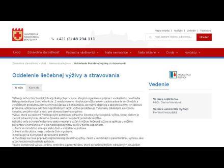www.unb.sk/1384-sk/oddelenie-liecebnej-vyzivy-a-stravovania/