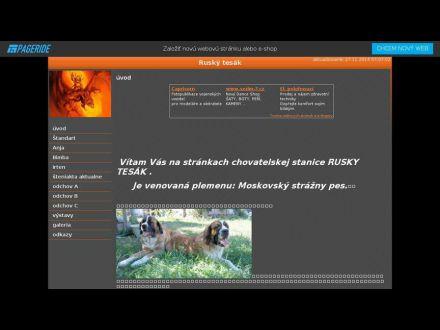 www.ruskytesak.wbl.sk