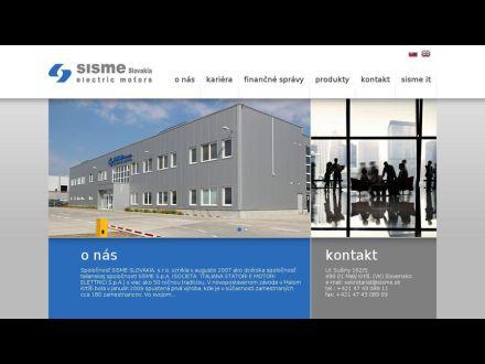www.sisme.sk