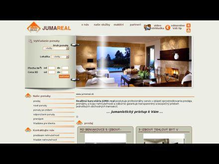 www.jumareal.sk