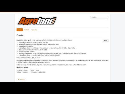 www.agroland.sk