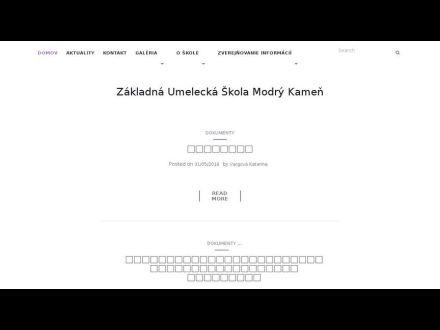 www.zakladnaumeleckaskola.sk